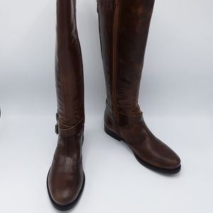 Matisse Britain Brown Leather Riding Boots